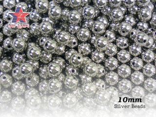 Acrylic Metallic Beads