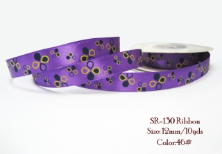 Ribbon 46# - purple