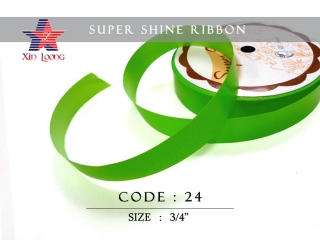 Super Shine Ribbon : 3/4 inch