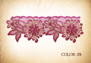 LACE 28# - dark pink