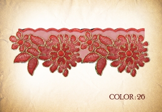 LACE 26# - red