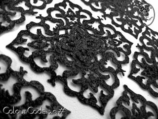 S601 Dokoh Patch Glitter (6 x 6cm)