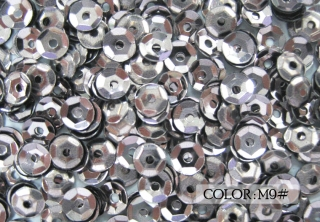 Metallic Cup Sequins, 4mm