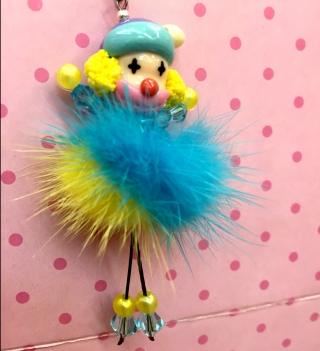 Polymer Clay Doll Head Beads