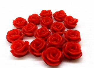 Resin Cabochon Roses