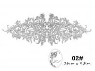 S618 Dokoh patch glinter