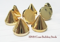 Cone Bulldog Studs 12mm