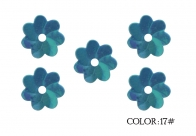 336 Flower Sequins, 5mm