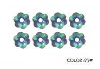 23# - purple rainbow