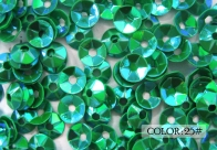 25#- emerald rainbow