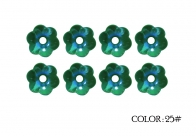 25# -emerald rainbow