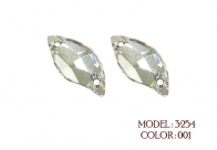 Swarovski Elements 3254 leaf sew on stone