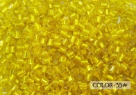 Korea Seed Beads, Size 11/0 Hexagon 2-Cut