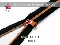 #5 Nylon Metal Zipper