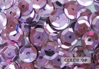 Metallic Cup Sequins, 6mm