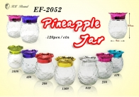 Pineapple Glass Jar