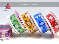 Flower Printed Fabric Tape : 2cm