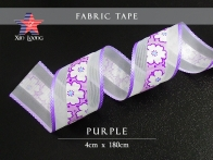 Flower Printed Fabric Tape : 4cm