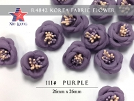 Korea Fabric Flower