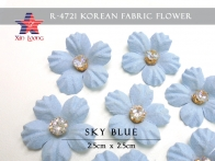 Korean Fabric Flower