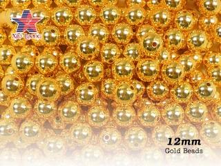 Acrylic Metallic Beads