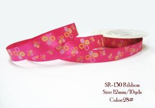 Ribbon 28#- dark pink