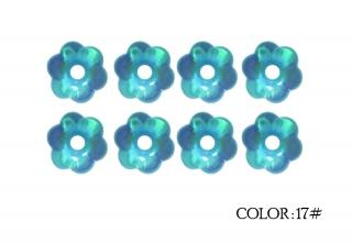 17# - aquamarine rainbow