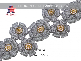 Crystal Embroidery Lace