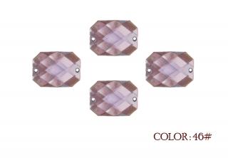 Sew on Rectangle Arcylic Stone