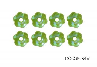 84# - apple green rainbow