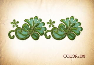 LACE 108# - green