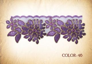 LACE 46# - purple