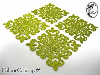 S605 Dokoh Patch Glitter(6x6cm)