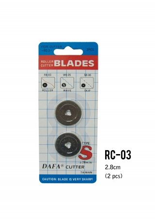 Roller Cutter With Refill Blades 28mm