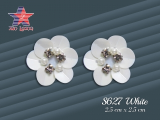 S627 3D sequin Flowers