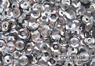Metallic Cup Sequins, 4mm