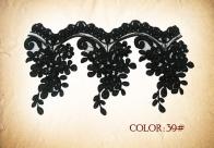 LACE 39# - BLACK