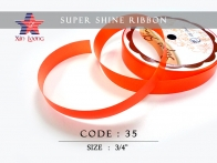 Super Shine Ribbon : 3/4 inch