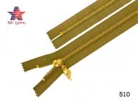 Golden Brass Metal Zipper B
