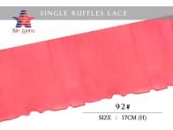 Chiffon Pleated Lace