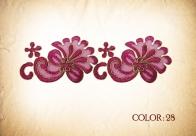 LACE 28# -dark pink