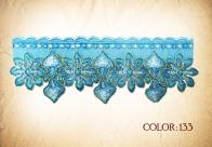 color: 133# - aqua & baby blue