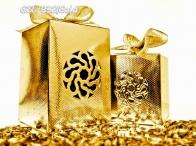 GSL- 832 Metallic Gift Box