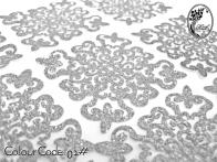S602 Dokoh Patch Glitter( 4.5 x 4.5cm)