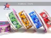 Flower Printed Fabric Tape : 2cm